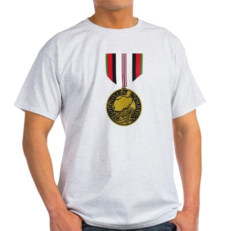 Afghanistan Campaign Medal Light T-Shirt