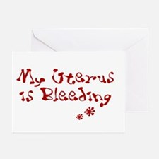 I hate my period and it makes Greeting Cards (Pack