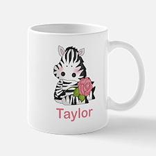 Taylor's Zebra Rose Mug