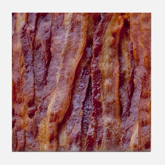 bacon2 Tile Coaster