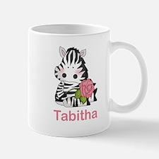 Tabitha's Zebra Rose Mug