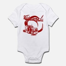 PTTM-Trucker-Red Infant Bodysuit