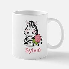 Sylvia's Zebra Rose Mug