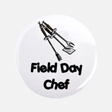 "Field Day Chef 3.5"" Button"