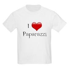 I Love Paparazzi T-Shirt