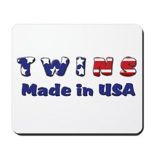 Twins Made in USA Mousepad