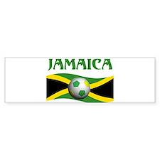 TEAM JAMAICA WORLD CUP Bumper Bumper Bumper Sticker