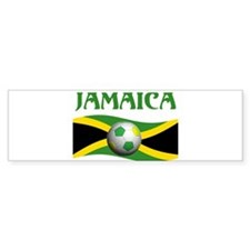 TEAM JAMAICA WORLD CUP Bumper Bumper Sticker