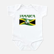 TEAM JAMAICA WORLD CUP Infant Bodysuit
