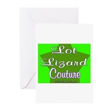Lot Lizard Couture Greeting Cards (Pk of 10)