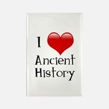 I Love Ancient History Rectangle Magnet