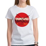 Domestic Violence w/Yellow UR Women's T-Shirt
