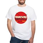 Domestic Violence w/Yellow UR White T-Shirt