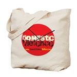 Domestic Violence w/Yellow UR Tote Bag