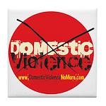 Domestic Violence w/Yellow UR Tile Coaster