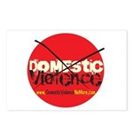 Domestic Violence w/Yellow UR Postcards (Package o