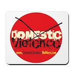 Domestic Violence w/Yellow UR Mousepad