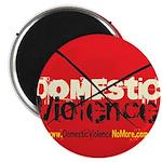 Domestic Violence w/Yellow UR Magnet