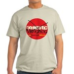 Domestic Violence w/Yellow UR Light T-Shirt