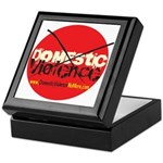 Domestic Violence w/Yellow UR Keepsake Box
