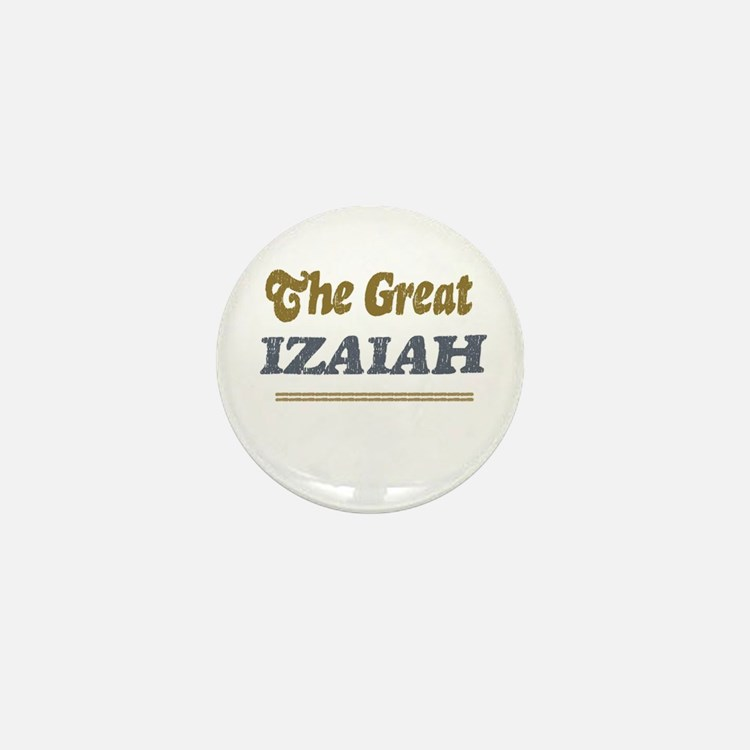 Izaiah Mini Button