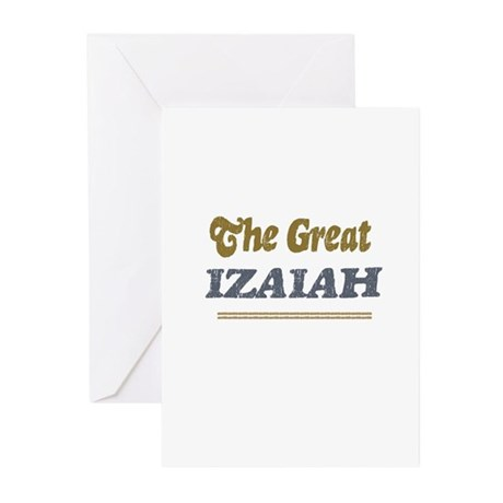 Izaiah Greeting Cards (Pk of 10)