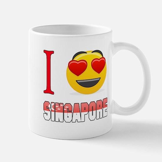 I love Singapore Mug