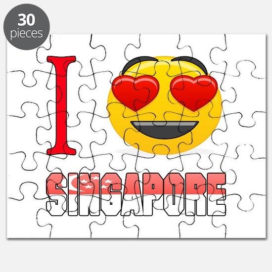 I love Singapore Puzzle