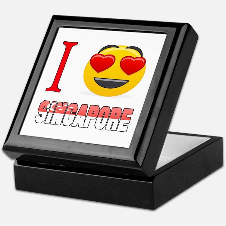I love Singapore Keepsake Box