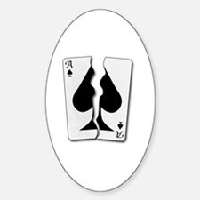 Funny Ace of spades death Decal