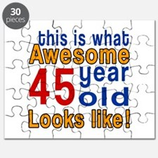 This Is What Awesome 45 Year Old Looks Like Puzzle