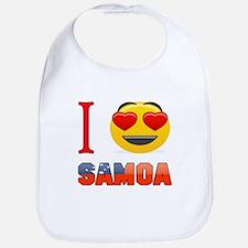 I love Samoa Bib