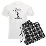 2nd anniversary Men's Light Pajamas