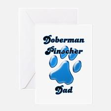 Dobie Dad3 Greeting Card