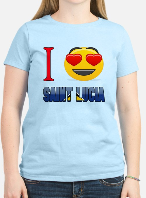 I love Saint Lucia T-Shirt