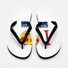 I love Saint Lucia Flip Flops