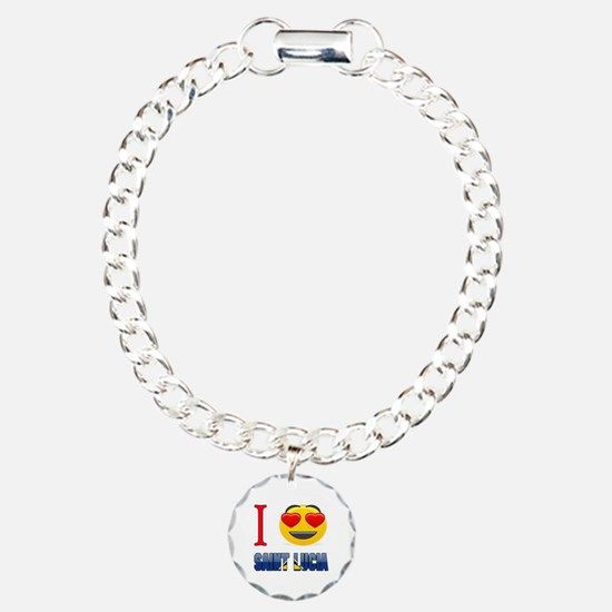 I love Saint Lucia Bracelet