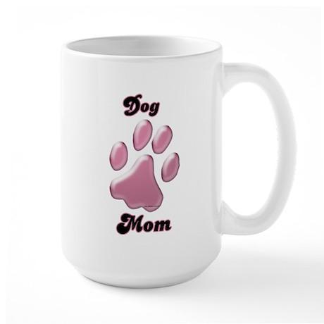 Dog Mom3 Large Mug