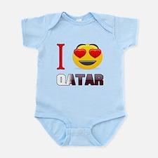 I love Qatar Infant Bodysuit