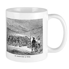 Ancient Game of Shinty Mug