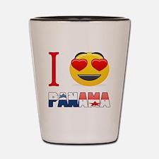 I love Panama Shot Glass