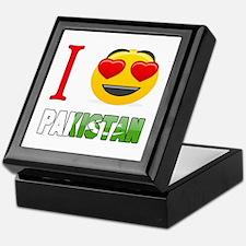 I love Pakistan Keepsake Box