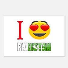 I love Pakistan Postcards (Package of 8)