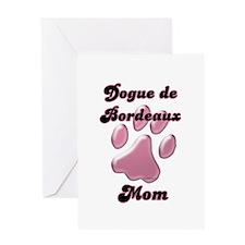 Dogue Mom3 Greeting Card