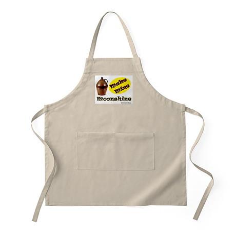 Make Mine Moonshine BBQ Apron