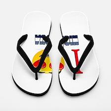 I love Nicaragua Flip Flops