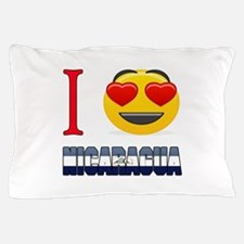 I love Nicaragua Pillow Case