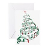 Music Greeting Cards (20 Pack)
