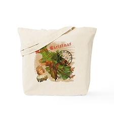 Christmas in Paris France Tote Bag