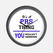 It's PRS thing, you wouldn't understand Wall Clock